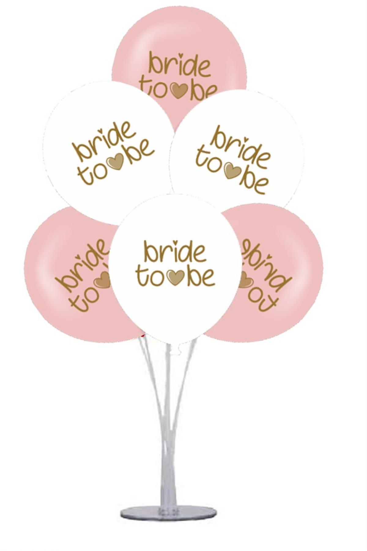 7 li Balon Demeti Bride To Be Balon