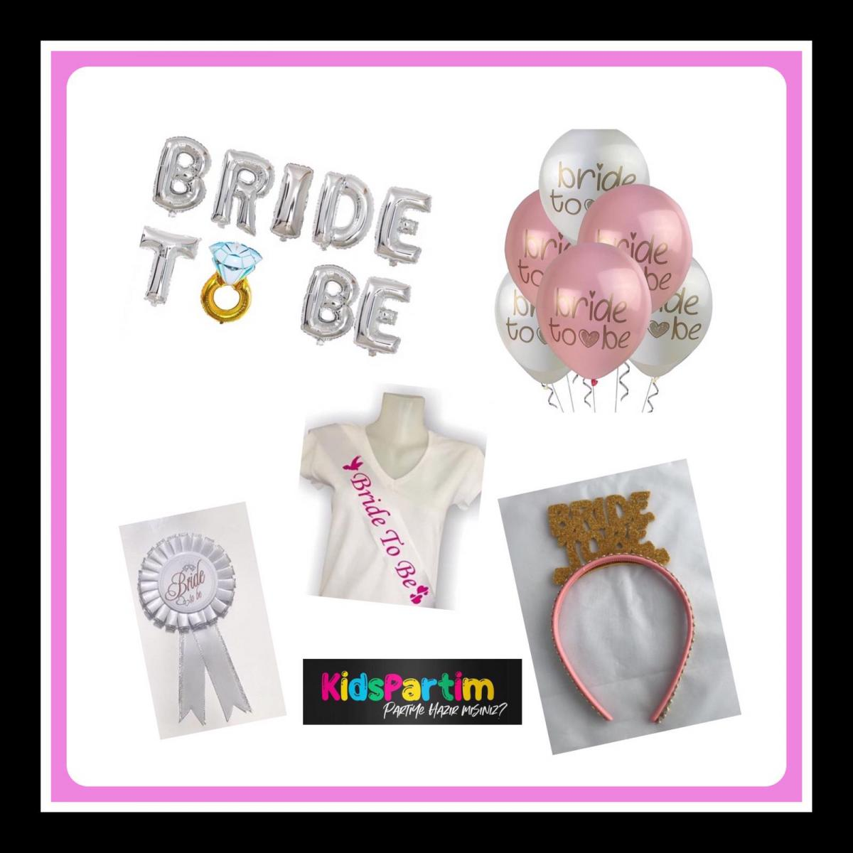 Bride To Be Parti Seti