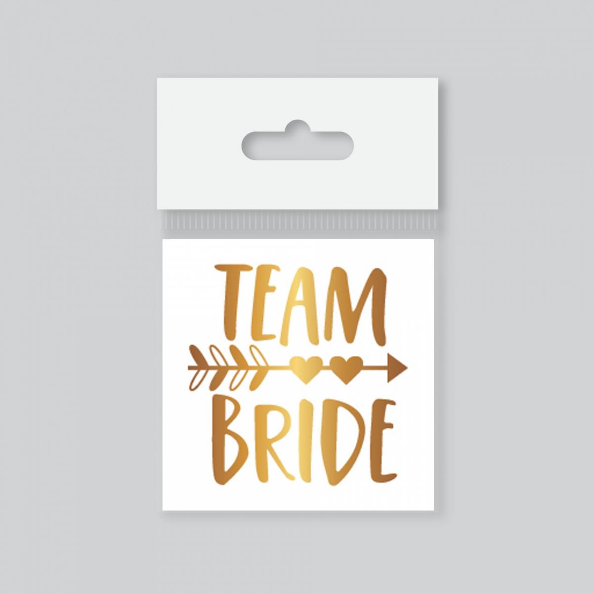 Dövme Team Bride Oklu Gold